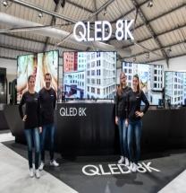 삼성전자, 유럽 최초 8K 위성 방송 시연