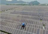 한국남동발전, 열화상카메라  장착한 드론으로 태양광 발전설비 검사