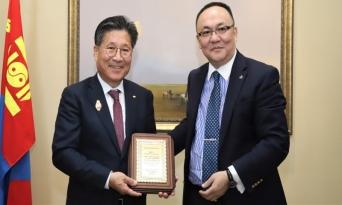 류재선 전기공사협회장, 몽골 정부훈장 수상